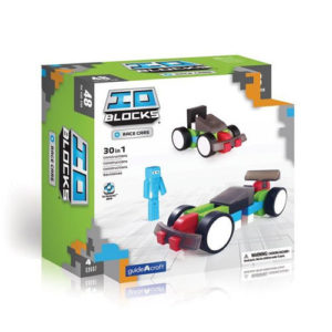 Construccion IO Blocks Race Cars 48 piezas