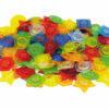 Set de botones plásticos translucidos