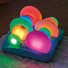 Piedras sensoriales luminosas