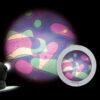 Rueda de Lava Violeta/Verde Para Space Proyector