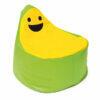 Puff Smiley BanBag Verde y Amarillo