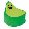 Puff Smiley BanBag Verde y Verde oscuro