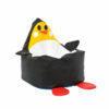 Puff BeanBag Pingüino negro