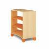 Mueble Curvado Grande Naranja