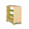 Mueble Curvado Grande Verde