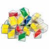 Cubos Transparentes 2 Colores