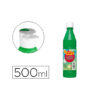 Tempera líquida 500 ml Verde medio