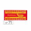 Plastilina Jovi 150 grs Rojo