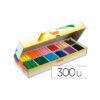 Lapices cera jovicolor -caja con 300 lapices surtidos.
