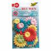 Flores de papel 30 uds.