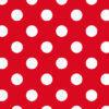 Cartulina Papel Decorada con Puntos Rojos