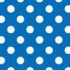 Cartulina Papel Decorada con Puntos Azul