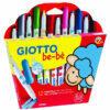 Rotuladores Giotto Super Be-Be Caja de 12 colores surtidos