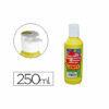 Tempera líquida 250 ml Amarillo