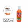 Tempera líquida 250 ml Naranja
