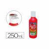 Tempera líquida 250 ml Rojo