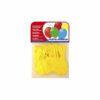 Globo pastel amarillo 20 uds