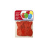 Globo pastel rojo 20 uds