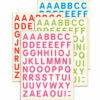 pegatinas de letras mayusculas