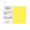 Cartulina liderpapel 50×65 cm 180g/m2 amarillo paquete de 25