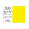 Cartulina liderpapel 50×65 cm 180g/m2 amarillo limon paquete de 25
