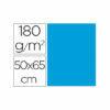 Cartulina liderpapel 50×65 cm 180g/m2 celeste paquete de 25