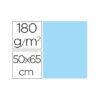 Cartulina liderpapel 50×65 cm 180g/m2 azul paquete de 25