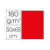 Cartulina liderpapel 50×65 cm 180g/m2 rojo paquete de 25