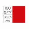Cartulina liderpapel 50×65 cm 180g/m2 rojo navidad paquete de 25