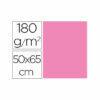 Cartulina liderpapel 50×65 cm 180g/m2 rosa paquete de 25