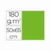 Cartulina liderpapel 50×65 cm 180g/m2 verde paquete de 25