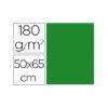 Cartulina liderpapel 50×65 cm 180g/m2 verde navidad paquete de 25