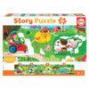 "26 La granja ""Story Puzzle"""
