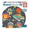 """28 El Espacio """"Round Puzzle"""""""