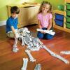 Puzzle Suelo de Foam Esqueleto